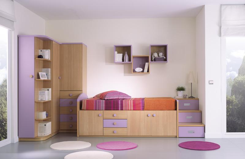 El mueble juveniles gallery of con estos muebles en el for Mueble puente juvenil